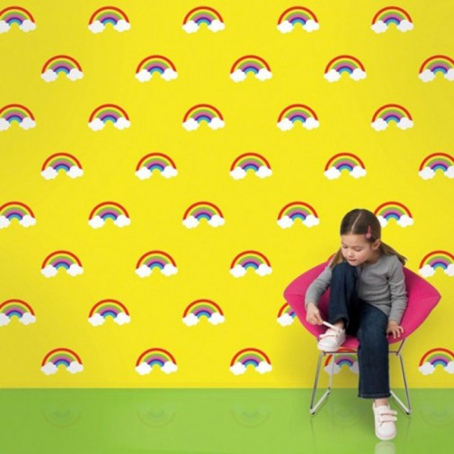 Vesele tapete za dečiju sobu slika4