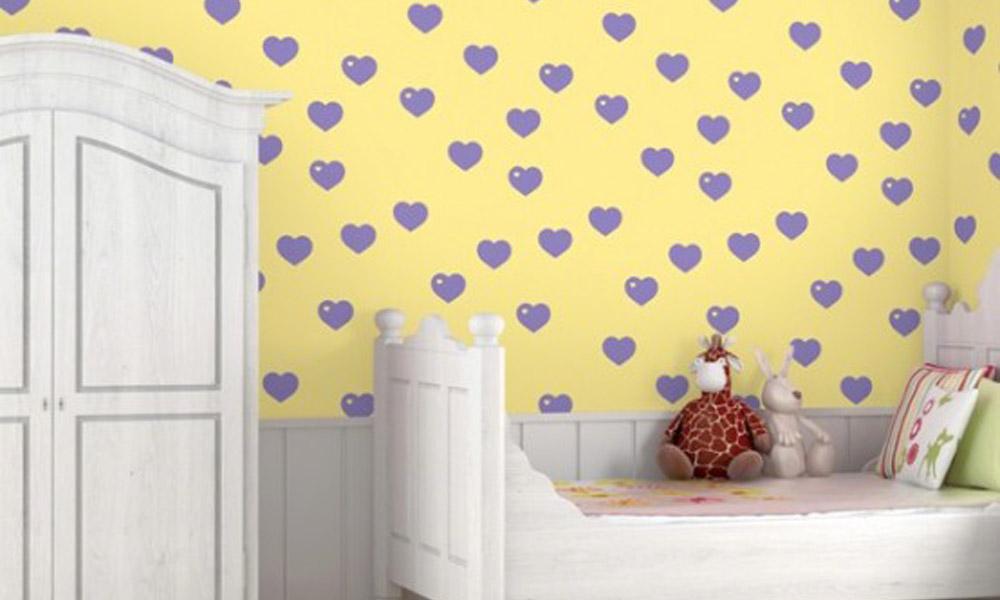 Vesele tapete za dečiju sobu