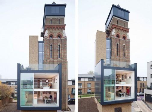 Vodotoranj u Londonu pretvoren u luksuzni dom slika2