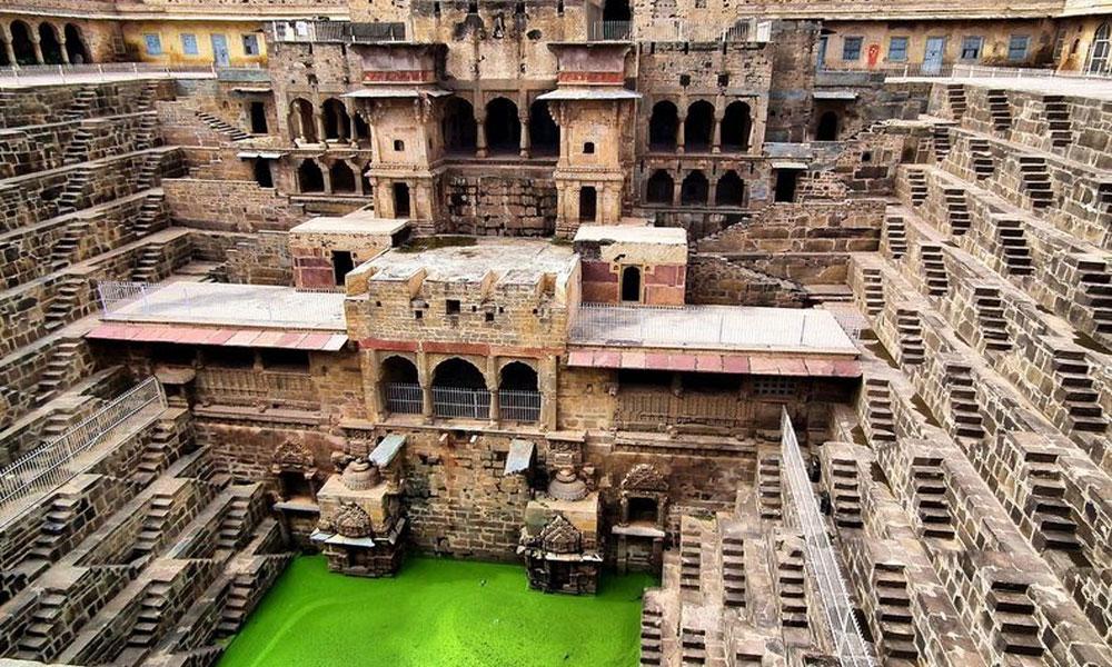 Vrtoglave stepenice u Indiji