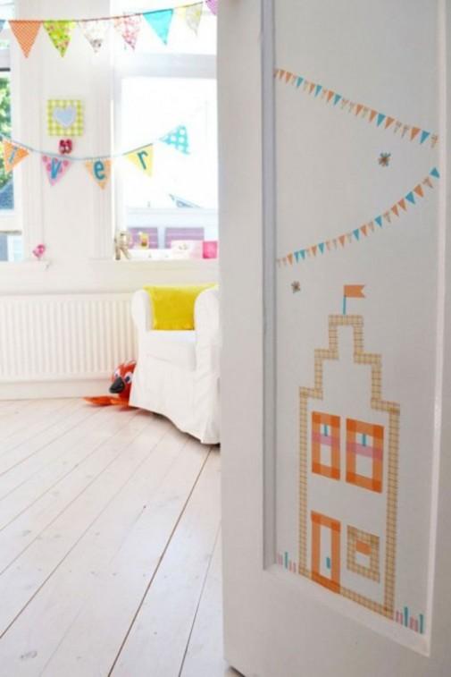 Živahan i zabavan dizajn za dečiju sobu slika5