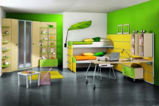Atraktivna zelena boja slika3