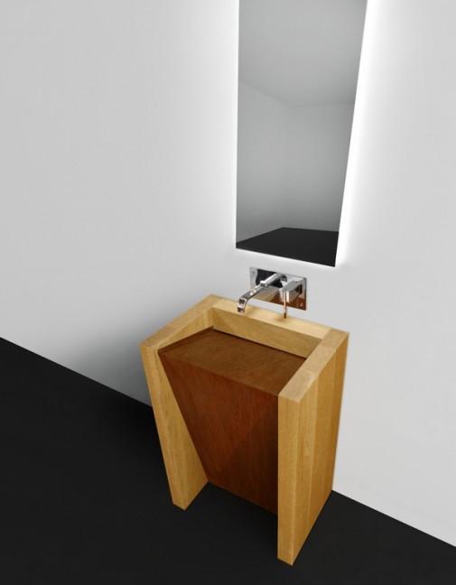 CORTEN lavabo slika 2