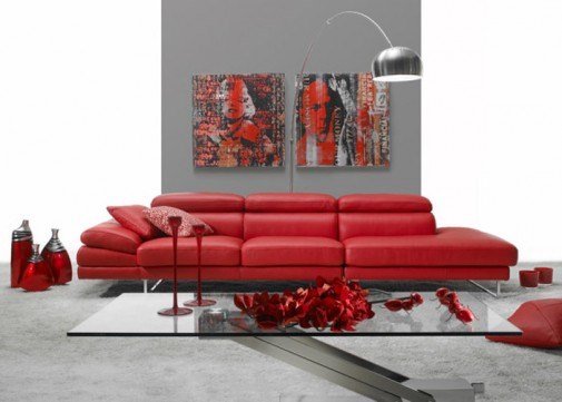 Crvena sofa slika4