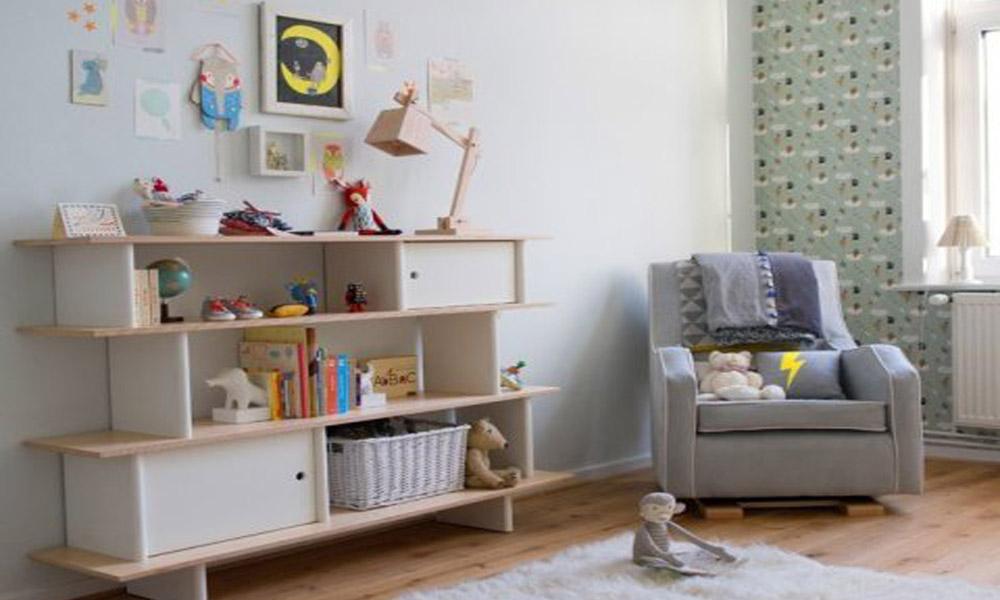 Dizajn dečije sobe u netralnim tonovima