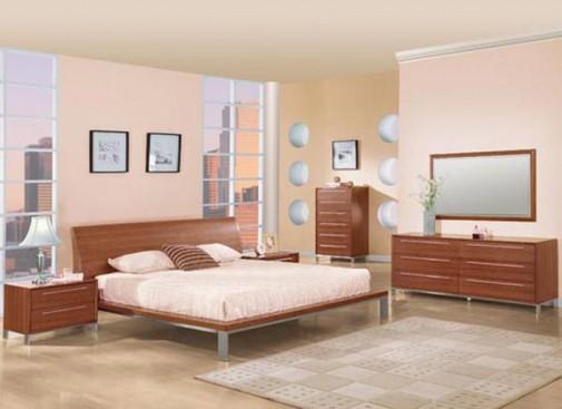 Drveni nameštaj u spavaćoj sobi slika2