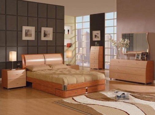 Drveni nameštaj u spavaćoj sobi slika3