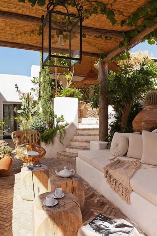 Elegantne terase i verande u neutralnim nijansama slika4