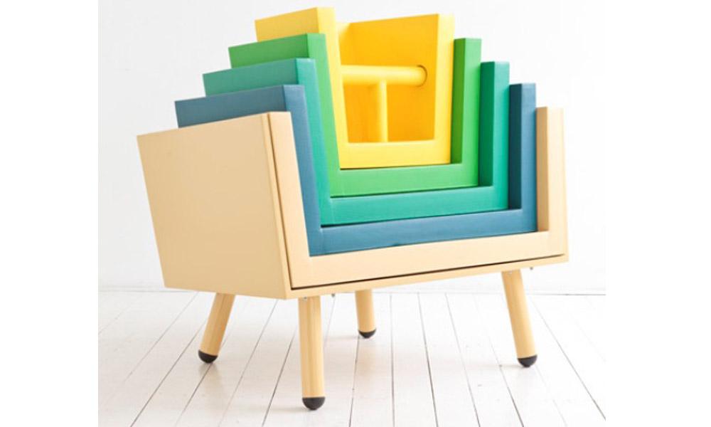 Funkcionalna dečija stolica na slaganje