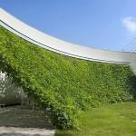 Kuća sa zelenim paravanom