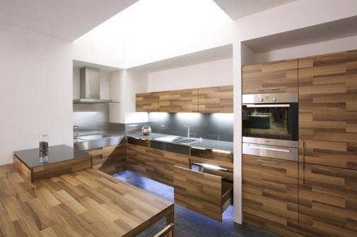 Prelepa kuhinja od drveta slika4