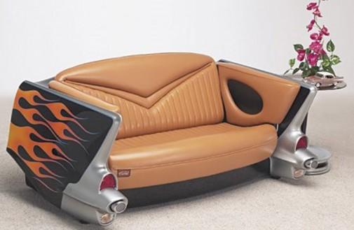 Sofe u obliku automobila slika2
