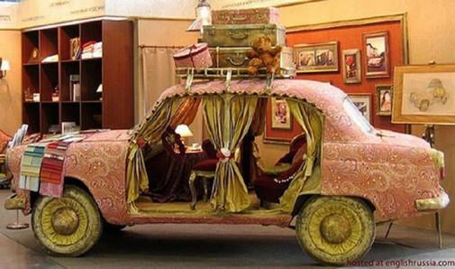 Sofe u obliku automobila slika3