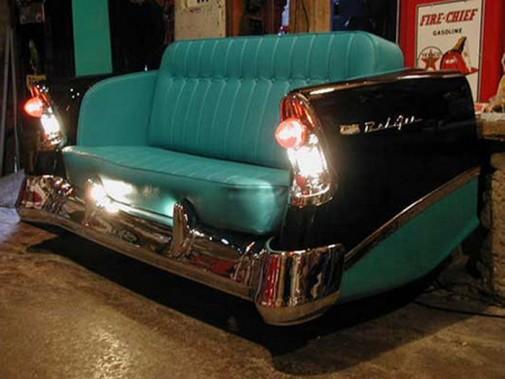 Sofe u obliku automobila slika5