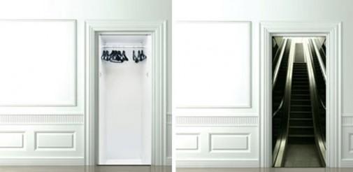 Trodimenzionalni stikeri za vrata slika2