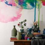 Ukrasite zid vodenim bojama