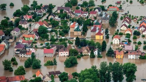 Centralna Evropa pod vodom