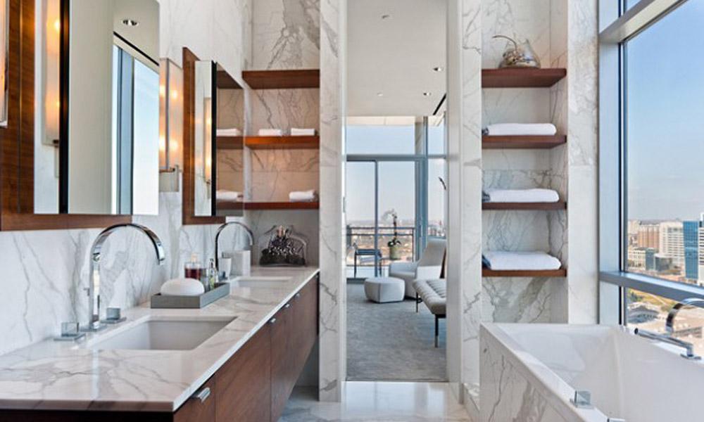 Dizajn kupatila u mermeru