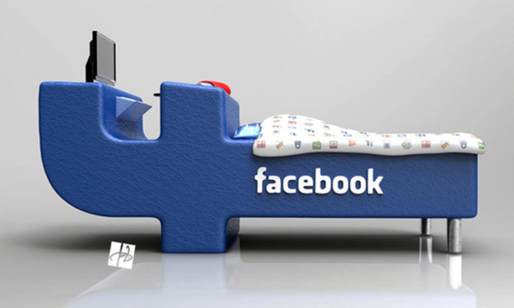 Facebook krevet