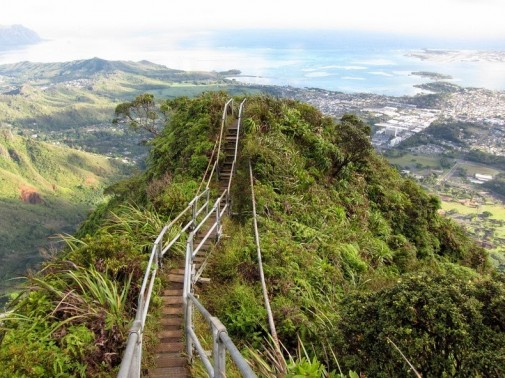 Haiku stepenice na Havajima slika 2
