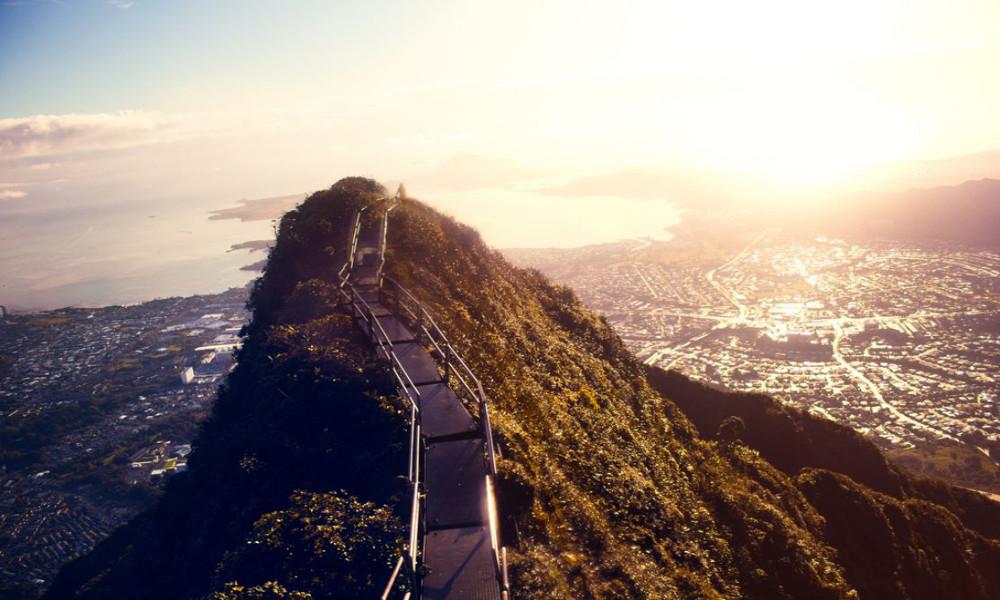 Haiku stepenice na Havajima