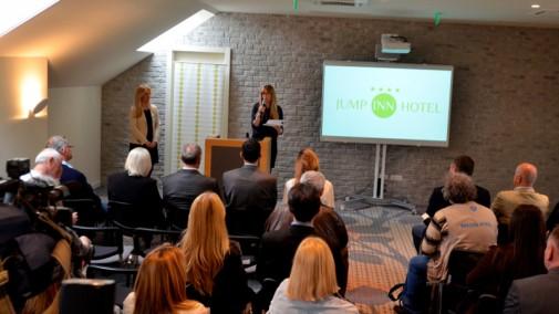 Jump Inn hotel prezentacija