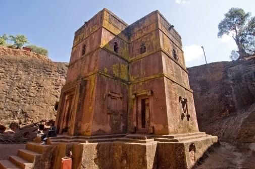 Kamene crkve Lalibele slika 2