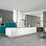 Kuhinja koja kombinuje retro dizajn sa modernim