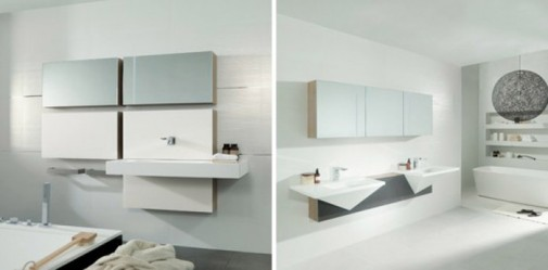 Kupatilo inspirisano kubizmom  slika3