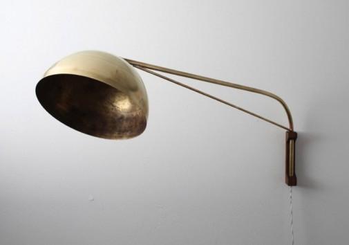 Lampe sa mesinganom kupolom slika2