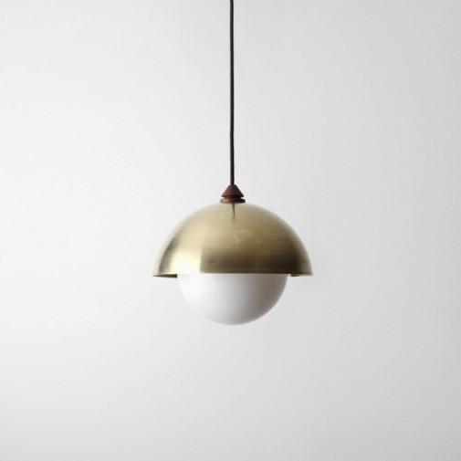 Lampe sa mesinganom kupolom slika3