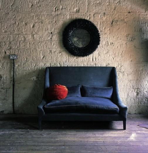 Plave somotne sofe slika3