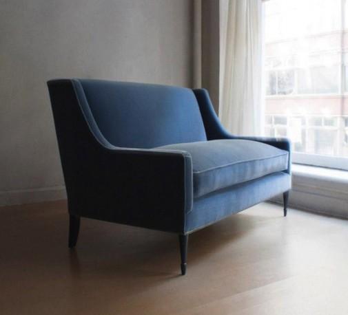 Plave somotne sofe slika4