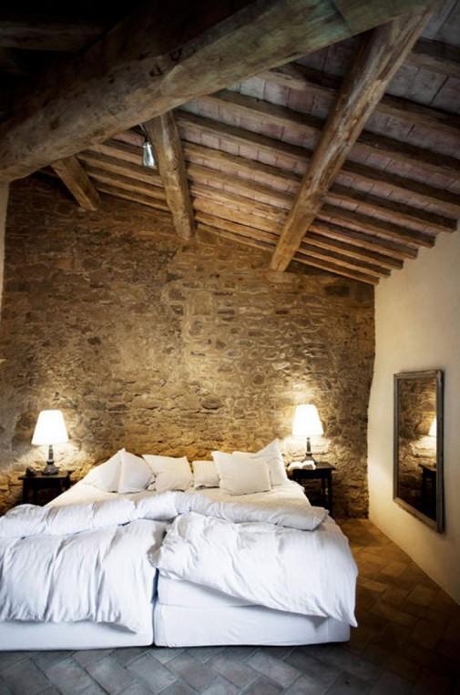 Rustične spavaće sobe slika2
