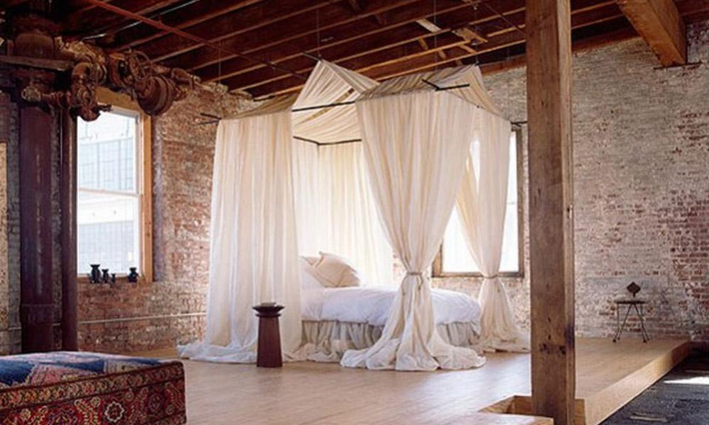 Rustične spavaće sobe