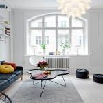 Skandinavski dizajn u dnevnoj sobi