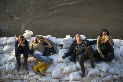 Volonteri i volonterke u Drezdenu se odmaraju