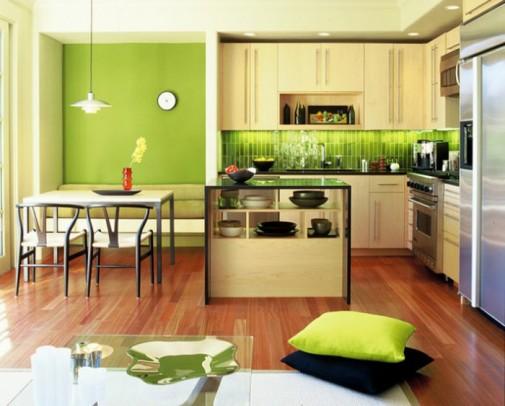 Zelena boja u vašem domu slika2