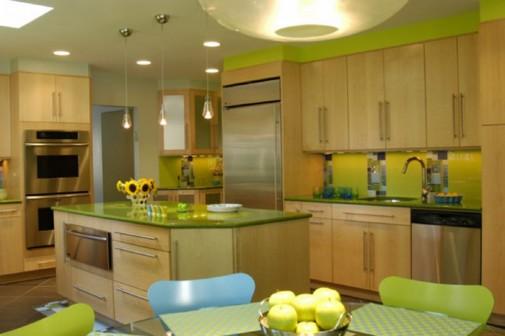 Zelena boja u vašem domu slika4