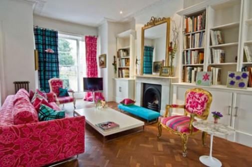 Šarenoliki dizajn dnevnih soba slika2