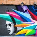 Živopisan grafit u Madridu
