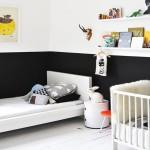 Crna boja u dečijim sobama