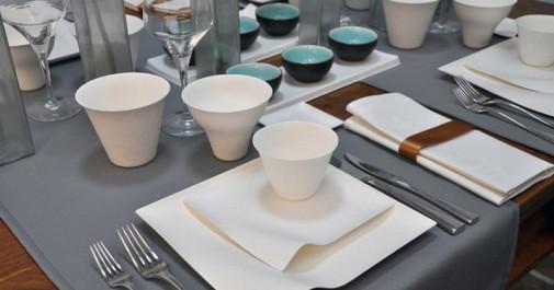 Elegantni tanjiri za jednokratnu upotrebu u japanskom stilu slika2