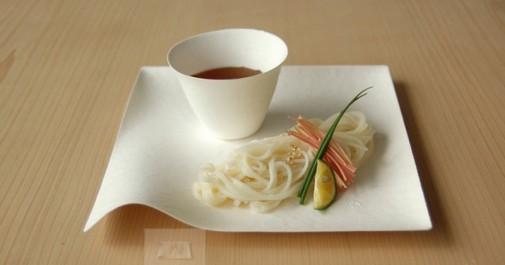 Elegantni tanjiri za jednokratnu upotrebu u japanskom stilu slika4