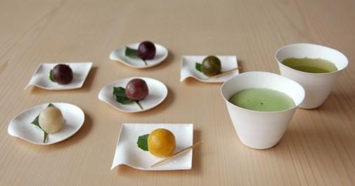 Elegantni tanjiri za jednokratnu upotrebu u japanskom stilu slika5