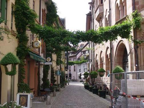 Frajburg, Nemačka
