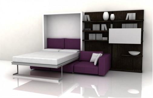 Funkcionalan nameštaj za male dnevne sobe slika2