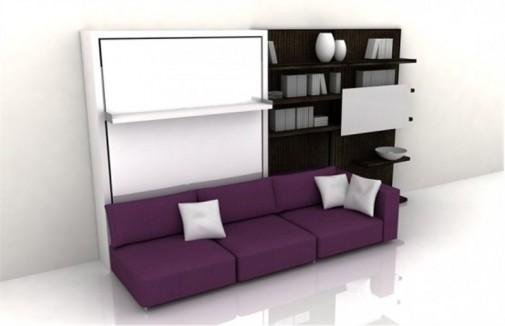 Funkcionalan nameštaj za male dnevne sobe slika3