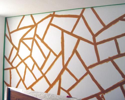 Random Lines Wall Design Ideas