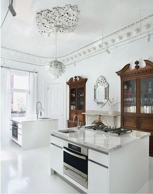 Glamurozna kuhinjska ostrva slika2